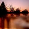 Saulėlydis nuo mano palangės - Paskendę vakaro žaroj