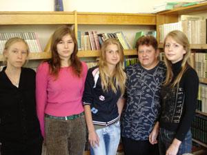 Gelgaudiškio bibliotekos pagalbininkės