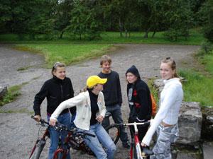 Gelgaudiškio dviratininkai