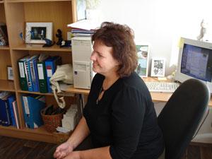 Gelgaudiškio bibliotekininkė Lina